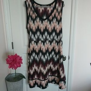 3x fit and flare dress